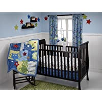 Little Bedding 3 Crib Piece Set, Monster Babies by Little Bedding [並行輸入品]