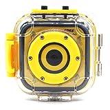 キッズカメラ DV 子供用デジタルビデオカメラ 撮影/録画可能 20M防水ハウジング スポーツカメラ 1.77インチ液晶搭載 5MP オート セルフタイマー LT-GM05