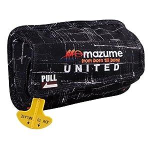 MAZUME(マズメ) インフレータブルポーチ カモ ウエストバッグIII取付用 MZLJ-255-02 ブラックカスリ フリー