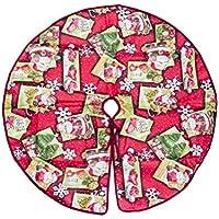 BESTOYARD クリスマスツリースカート クリスマス飾り ツリースカート クリスマスパーティー オーナメント 雰囲気 足元 円形 屋内屋外飾り
