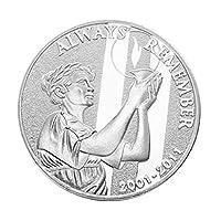 Baoyouls 9/11テロ攻撃の記念記念コインコレクションギフトお土産アートメタルアンティーク
