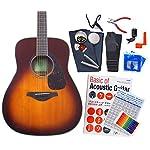 ヤマハ ギター アコースティックギター 初心者 ハイグレード16点セット YAMAHA FG820 BS [98765] 【検品後発送で安心】