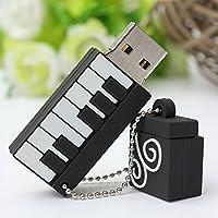 MECO USBフラッシュドライブ 16GB USB 2.0 漫画音楽音符のモデルのメモリースティックストレージ/サムドライブ ギフト用 16GB MECOwKFaUKbun