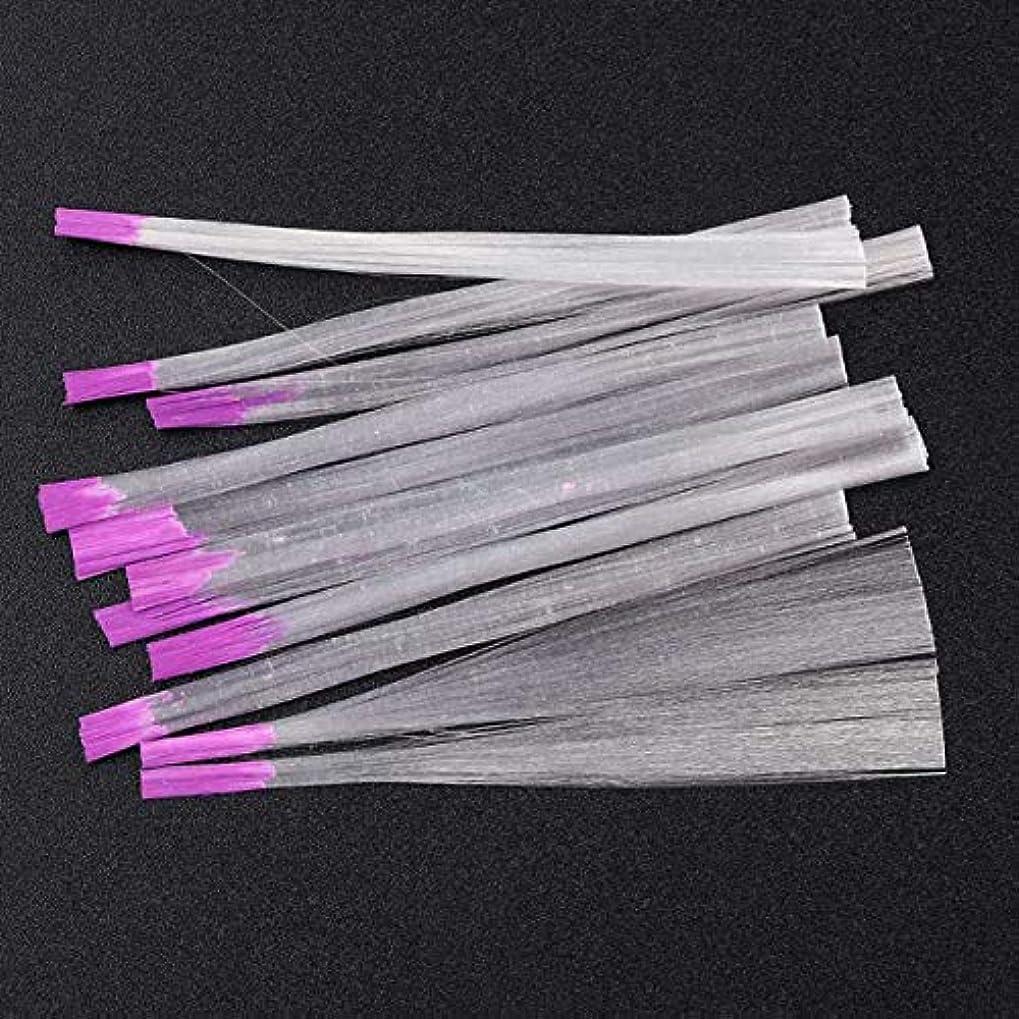 人道的娘恐ろしいサリーの店 アップグレードされたバージョン透明な釘ファイバーグラス釘絹拡張子アクリルのヒントサロンツール(None Picture Color)