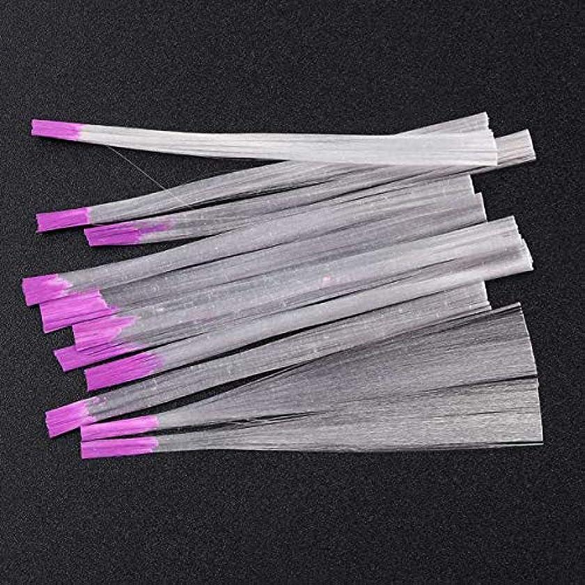 低いジェーンオースティンショートカットサリーの店 アップグレードされたバージョン透明な釘ファイバーグラス釘絹拡張子アクリルのヒントサロンツール(None Picture Color)