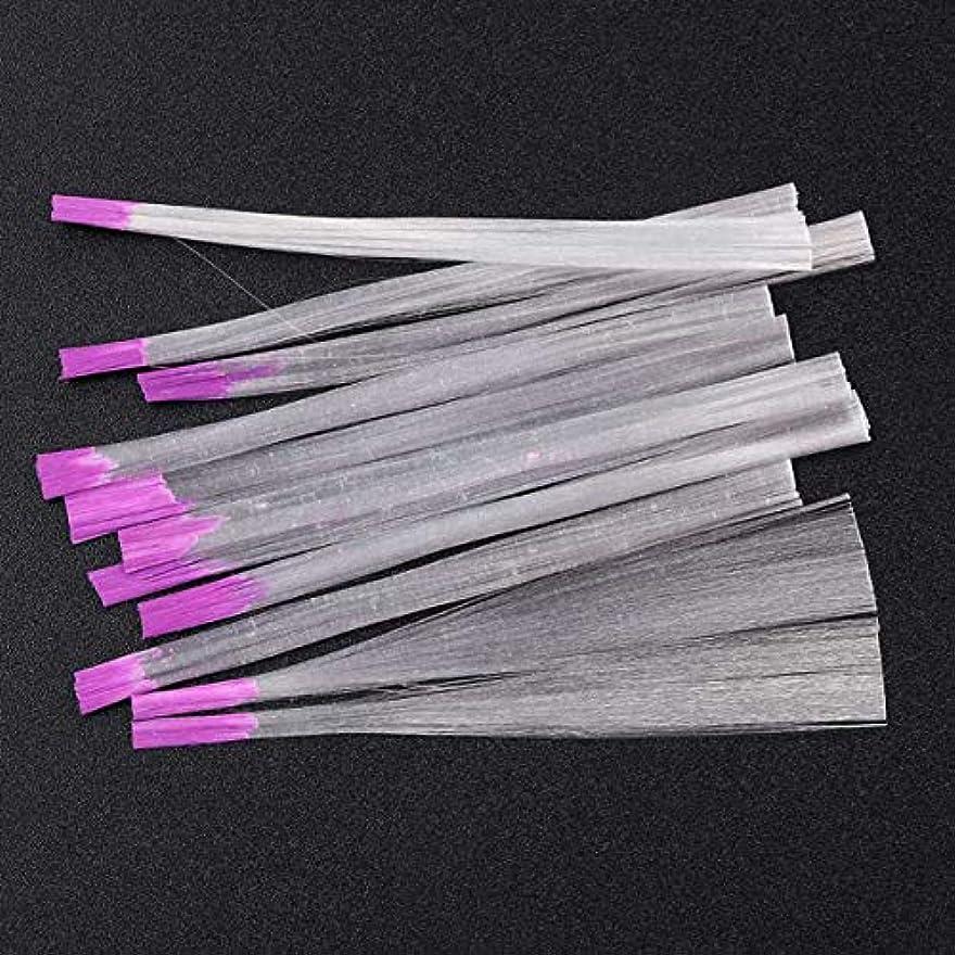 解く単調なもう一度サリーの店 アップグレードされたバージョン透明な釘ファイバーグラス釘絹拡張子アクリルのヒントサロンツール(None Picture Color)