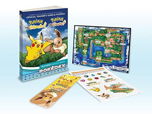 Pokémon: Let's Go, Pikachu!  Pokémon: Let's Go, Eevee!: Official Trainer's Guide  Pokédex (Pokemon (Prima Official Guide/Official Pokedex Guide))
