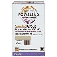 CUSTOM BLDG PRODUCTS PBG457-4 7 lb Wheat Sanded Polyblend Grout [並行輸入品]