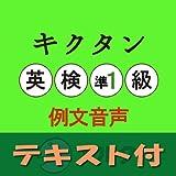 キクタン英検準1級 例文音声英単語例文テキストデータ付アルク