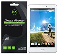 [ 3- Pack ] DMAX armor- Acer Iconia Tab 8a1–840アンチグレア指紋防止スクリーンプロテクター–生涯Replacements warranty-小売パッケージ