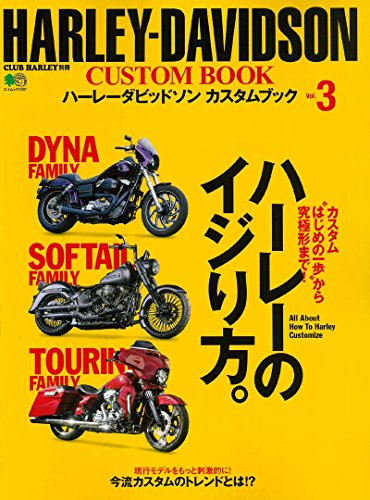 HARLEY-DAVIDSON CUSTOM BOOK Vol.3 エイムック 3787 CLUB HARLEY別冊
