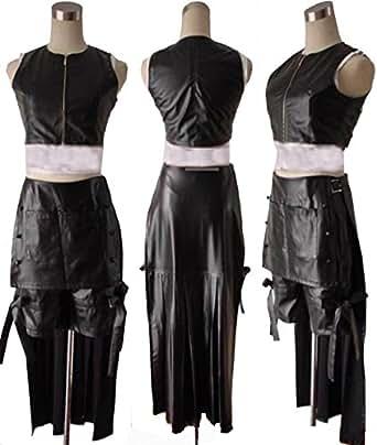 【ノーブランド品】472ファイナルファンタジー FF7 ティファ コスプレ衣装(男性XL)【ノーブランド品】