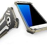 「小丸子の花轮クン」R-JUST正規品Samsung Galaxy s5/s6/s6 edge/s7/s7 edge耐衝撃 防塵カバー GAODA 軽便  防塵カバー 保護ケース 登山に対応 ギフトケース付き (Samsung Galaxy s7 edge, ゴールド)