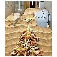 山笑の美 壁画壁紙床カスタム写真床壁紙カスタム写真自己接着床ホームデコレーション-120X100CM