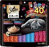 シーバ とろ〜りメルティ まぐろ&かつお味セレクション 12gx40本
