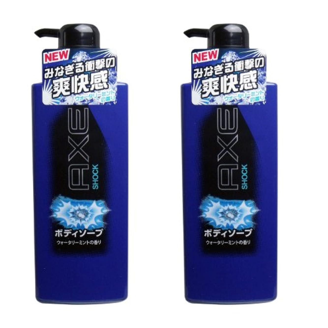 AXE(アックス) ボディソープの2点セット (ショック ウォータリーミントの香り)