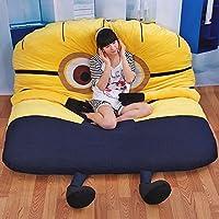タイムセール限定♪ 人気 ファション 畳ベッド 可愛い デザイン 高品質 折りたたみベッド 柔かい ヘッドレス ソファー (ダブル)