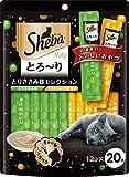 シーバ (Sheba) シーバ とろ~り メルティ とりささみ味セレクション 12g×20本