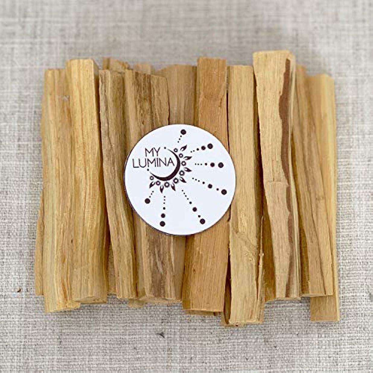パロサントスティック パロサント 聖なる木のお香スティック 浄化 癒し スマッジングチャクラバランス 幸運 瞑想 6 Pack, 12 Pack, 20 Pack