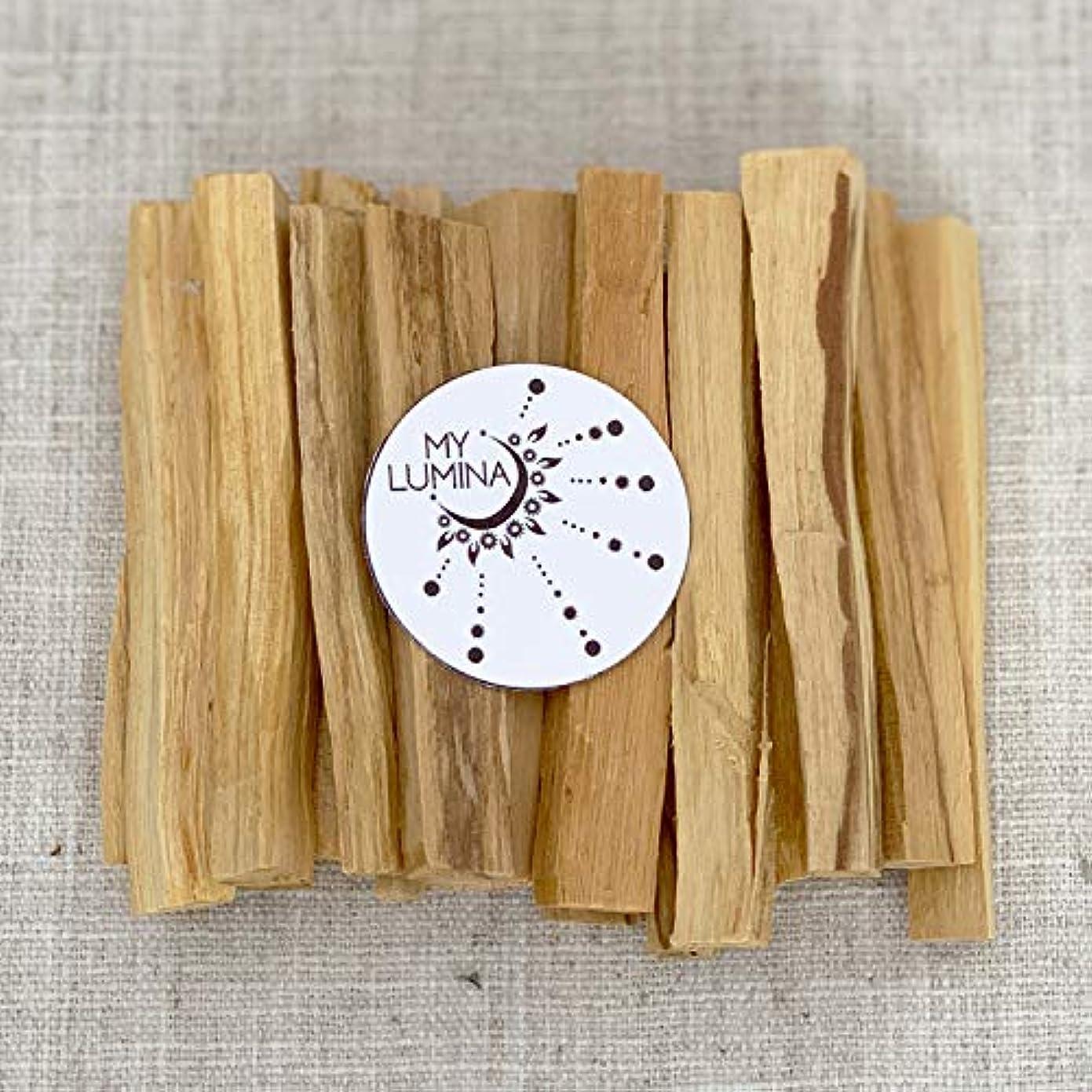 のスコアデータム耐えるパロサントスティック パロサント 聖なる木のお香スティック 浄化 癒し スマッジングチャクラバランス 幸運 瞑想 6 Pack, 12 Pack, 20 Pack
