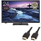 ハイセンス 24V型 液晶テレビ -外付けHDD録画対応(裏番組録画)/メーカー3年保証- 24A50  (HDMIケーブル(1.8m) 付)