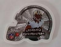 2014Topps NFL Magnetz Magnets–New Orleans Saints–Jimmy Graham (シルバーEdition )