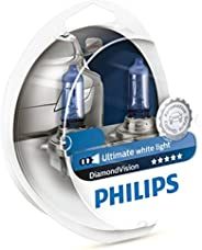 Philips Diamond Vision H11 5000K 12V globes - twin display pack