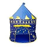 (つながる)Vedem 子供用テント キッズテント 屋内・室内用 子供遊び プレイハウステント (ブルー1) [並行輸入品]