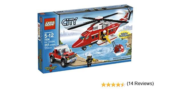 LEGO City Fire Helicopter 7206 4567627