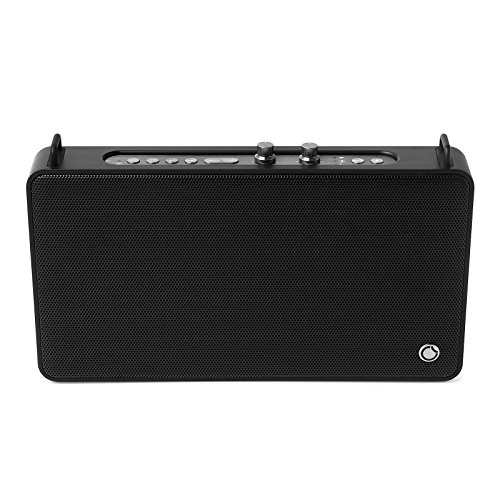 GGMM Wifi ワイヤレス ブルートゥーススピーカー 低音と高音独立調整 ステレオ 高音質 スピーカー アンプ四つ 20W出力 15時間連続再生 内蔵マイク付き 通話可能 マルチルーム再生 Alexa対応 音声操作 ポータブル スマート スピーカー E5 (WiFi+Bluetooth, ブラック)
