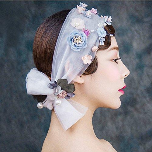 OSHIDE 髪飾り ウエディングベール 花嫁 ウェディング...