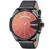 [ディーゼル] 腕時計 MEGA CHIEF DZ4323 メンズ ブラック [並行輸入品]