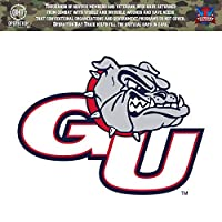 Gonzaga University Bulldogs Zags操作Hat Trick Oht Die Cut Vinyl Decal