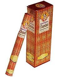 サンダルウッドお香インドから – MadeからNatural Scented Oil – Great forヨガ、瞑想、祈り、ホーム香り、空気清浄機としてand – Kanaiyaブランドby tikkalife