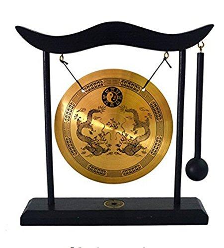 (イスイ)YISHUI 風水グッズ 銅鑼 ゴング ドラ 組立式 八卦 開運 財運 feng shui H1303