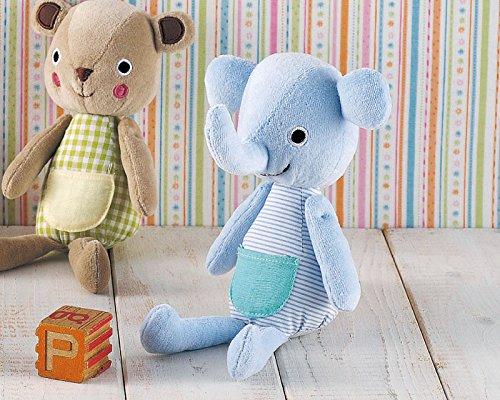 RoomClip商品情報 - 赤ちゃんギフトに最適お腹に鳴き笛が入っています 丸和貿易 ベベッキ いつでもいっしょちゃん ぞう 400644803