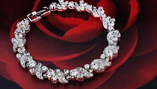 One&Only Jewellery シリウス XIRIUS1088 ブレスレット 正規 スワロフスキー ストーン採用 エレメンツ