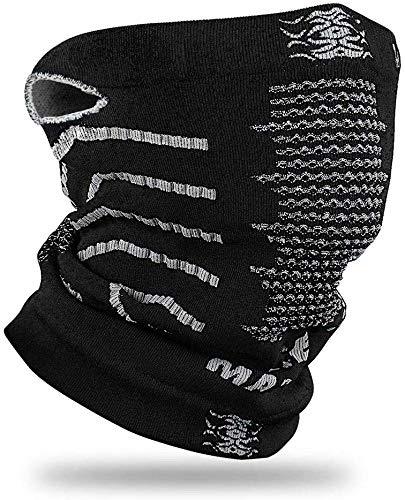 KOOOWO ネックウォーマー フェイスマスク スポーツマスク 防寒 防風 花粉症に対策 男女兼用 息苦しくない バイク用品、バイク、自転車、スキー、スノーボード、キャンプ、アウトドア、野外のスポーツ、登山、通勤、通学