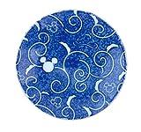三郷陶器 ディズニー 小粋染付 豆皿(ミツマル唐草) 3230-106