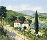 イタリアI by Peter Motz–Gicleeキャンバスアートプリント 10