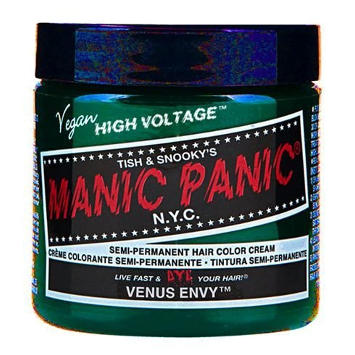 崇拝する水っぽい静かにスペシャルセットMANIC PANICマニックパニック:Venus Envy (ヴィーナスエンヴィ)+ヘアカラーケア4点セット