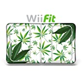 """""""Wii Fit skin"""" ニンテンドー Wii Fit バランスボード 保護シール - Weeds White"""