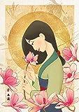 108ピース ジグソーパズル ムーラン 花の香り (18.2x25.7cm)