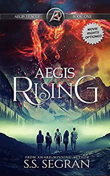 AEGIS RISING: Action Adventure Mystery Thriller (The Aegis League Series Book 1) by [Segran, S.S.]