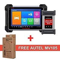 Autel maxicom mk908p診断スキャナー - コーディングECU 含むmaxivideo mv105とOBD2自動車スキャンツール MS908P + MV105