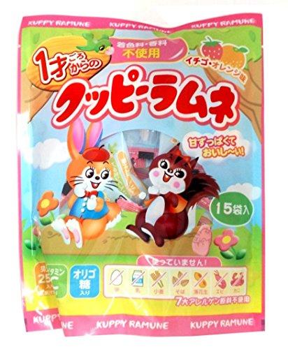 カクダイ製菓 1才ごろからのクッピーラムネ 4g×15袋×5袋