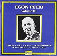 Egon Petri, Vol.3