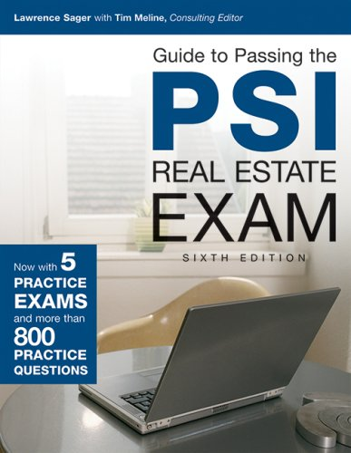 Download Guide to Passing the PSI Real Estate Exam, 6th Edition 142777868X