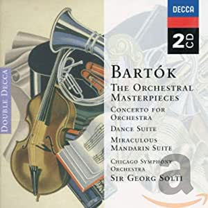 Concerto for Orchestra Music for Strings Percussio