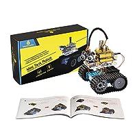 Keyestudioミニタンクロボットスマートカー 超音波/ Bluetooth /リモート/コントロール
